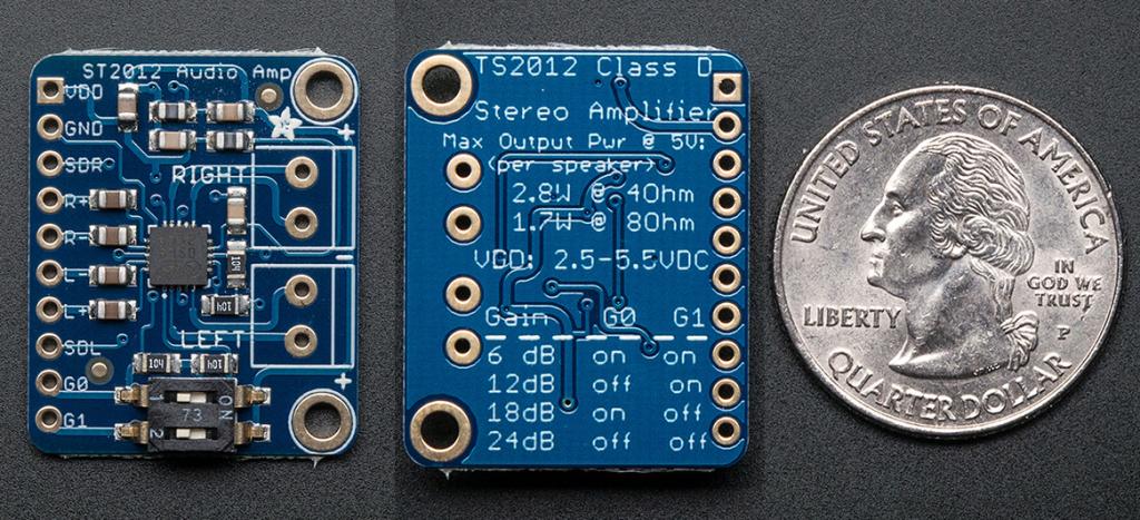 TS2012 Audo Amplifier