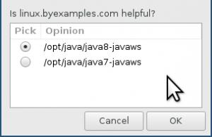 Java Selector