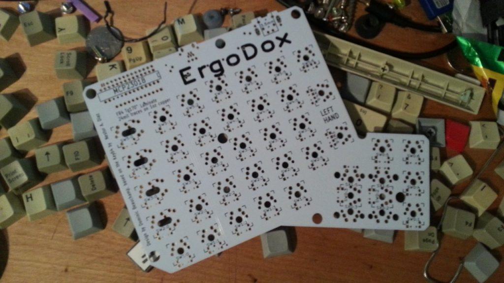 ErgoDox Printed Circuit Board