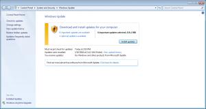 Windows Update Successful